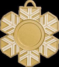 Snowflake medals