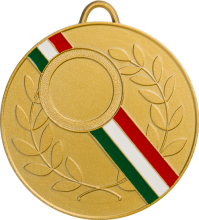 Enamelled medals in zamak
