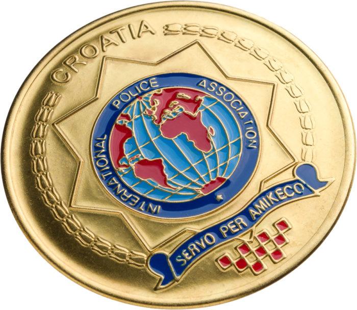 Stemma Polizia Croata