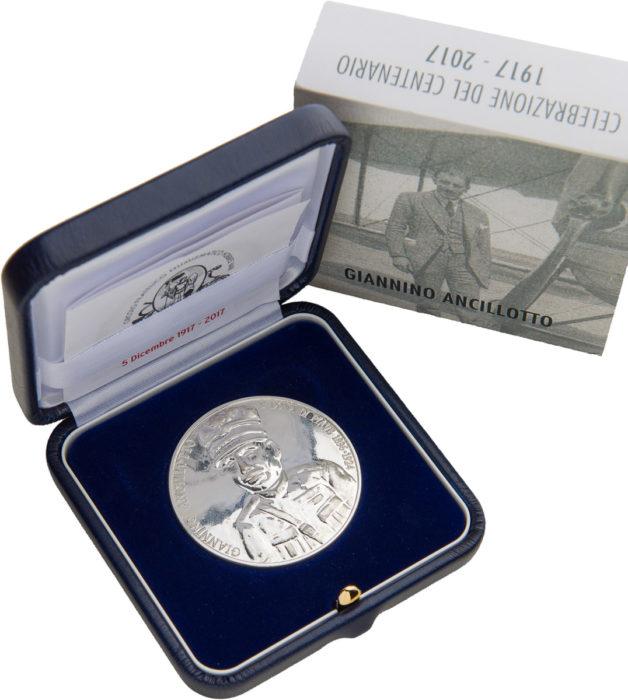 "Moneta commemorativa ""GIANNINO ANCILLOTTO"""